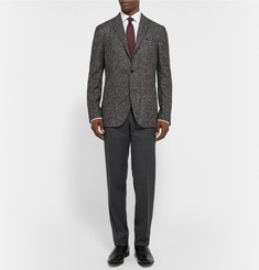 Boglioli Slub Wool and Cashmere-Blend Suit Jacket
