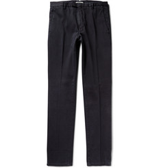 Boglioli Regular-Fit Cotton-Canvas Trousers