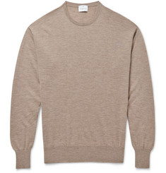 Kingsman 30-Gauge Cashmere Crew Neck Sweater