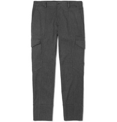 Dolce & Gabbana Slim-Fit Panelled Stretch Cotton-Jersey Trousers