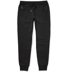 Dolce & Gabbana Loopback Cotton-Jersey Sweatpants
