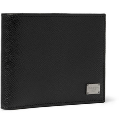 Dolce & Gabbana - Textured-Leather Billfold Wallet