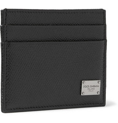 Dolce & Gabbana Textured-Leather Cardholder