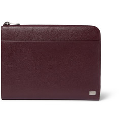 Dolce & Gabbana Textured-Leather Pouch