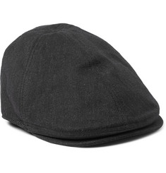 Dolce & Gabbana Herringbone Stretch-Cotton Flat Cap