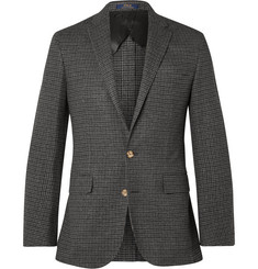 Polo Ralph Lauren Morgan Slim-Fit Houndstooth Wool and Cashmere-Blend Blazer