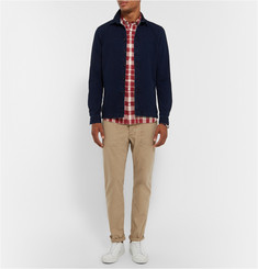 Burberry Brit Slim-Fit Checked Cotton-Blend Shirt