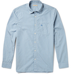 Burberry Brit Gingham Cotton-Poplin Shirt