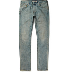 Burberry Brit Slim-Fit Washed-Denim Jeans