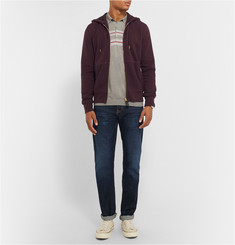 Burberry Brit Fleece-Backed Cotton-Blend Jersey Hoodie