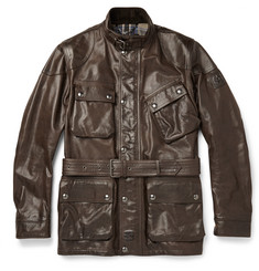 Belstaff Panther Waxed-Leather Jacket