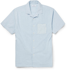 Hentsch Man Striped Cotton Shirt