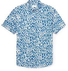 Hentsch Man Printed Cotton-Poplin Shirt