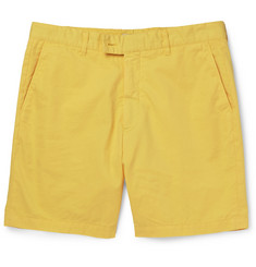 Hentsch Man Garment-Dyed Cotton Shorts