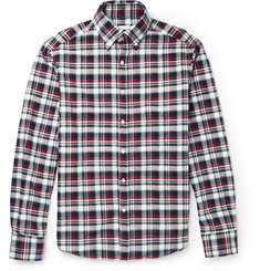 Michael Bastian Plaid Cotton-Flannel Shirt