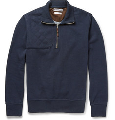 Michael Bastian Fleece-Backed Cotton Sweater