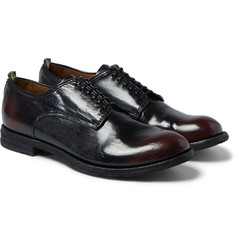 Officine Creative - Anatomia Glossed-Leather Derby Shoes