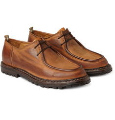 Officine Creative Voltaire Burnished Leather Derby Shoes