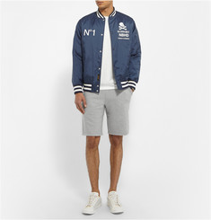 Reigning Champ Mid-Weight Loopback Cotton-Jersey Shorts