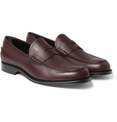 Tod's Full-Grain Leather Penny Loafers