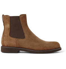 Tod's Rubber-Soled Suede Chelsea Boots