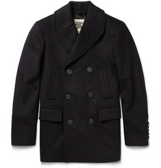 Burberry London Slim-Fit Wool and Cashmere-Blend Peacoat