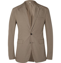 Burberry London Unstructured Cotton-Poplin Blazer