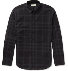 Burberry London Checked Cotton Shirt
