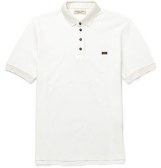 Burberry London Cotton-Piqué Polo Shirt