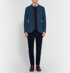 Gieves & Hawkes Slim-Fit Cotton-Corduroy Trousers