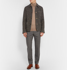 Gieves & Hawkes Houndstooth Wool Trousers