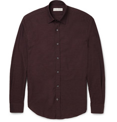 Gieves & Hawkes Mélange Cotton Shirt