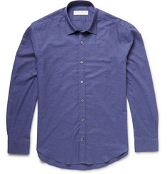 Gieves & Hawkes Slim-Fit Brushed-Cotton Shirt