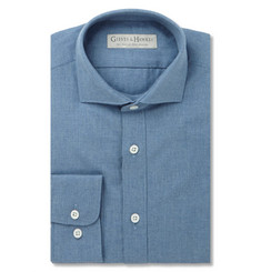 Gieves & Hawkes Blue Cotton Shirt