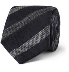 Gieves & Hawkes Striped Wool Tie
