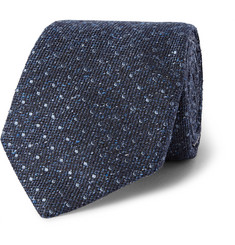 Gieves & Hawkes Pin-Dot Woven Silk Tie