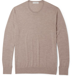 Gieves & Hawkes Cashmere, Wool and Silk-Blend Sweater