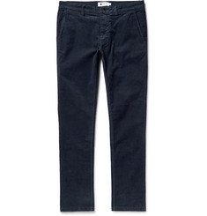 NN.07 Marco Slim-Fit Stretch Cotton-Corduroy Trousers