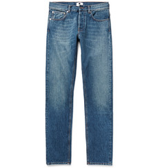 NN.07 Three Washed Selvedge Denim Jeans