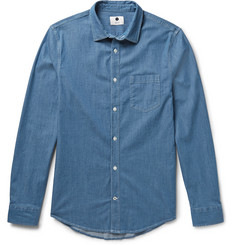 NN.07 Frede Cotton-Chambray Shirt