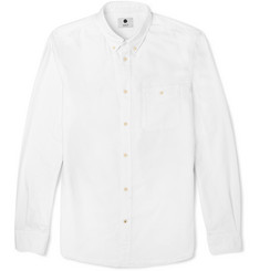 NN.07 Derek Woven-Cotton Oxford Shirt