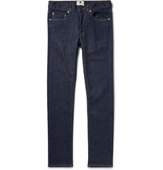 NN.07 Two Skinny-Fit Raw Stretch Selvedge Denim Jeans