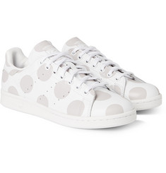 adidas Originals Stan Smith Polka-Dot Leather Sneakers
