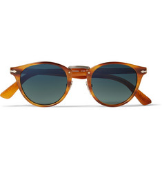 Persol Round-Frame Polarised Acetate Sunglasses