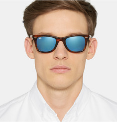 Ray-Ban Wayfarer Mirrored Acetate Sunglasses