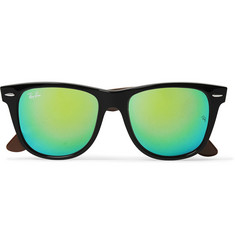 Ray-Ban Wayfarer Acetate Mirrored Sunglasses
