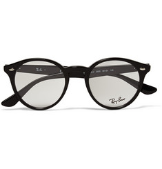 Ray-Ban Acetate Round-Frame Sunglasses