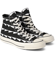 Converse - 1970s Chuck Taylor Printed Canvas High-Top Sneakers