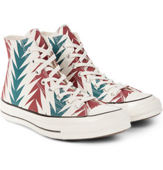 Converse - 1970s Chuck Taylor All Star Printed Canvas High-Top Sneakers