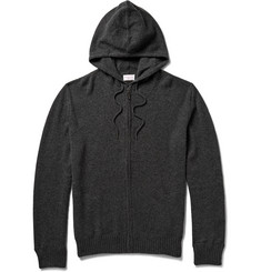 Derek Rose Finley Zip-Through Cashmere Hoodie